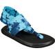Sanük Yoga Sling 2 Prints Sandaler Damer blå/sort